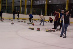 Curling at RMU Island Sports Center