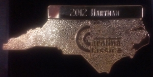 Carolina Classic 2012 - Hartman Event Pin
