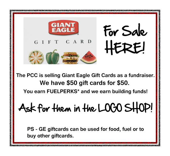 Giant eagle gift card
