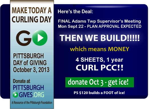 Let's get ice. Donate at pittsburghgives.org on October 3.