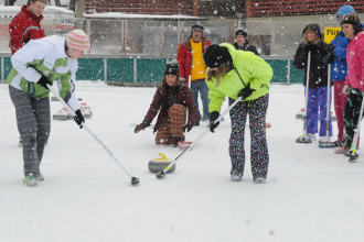 Learn to Curl at Schenley Park